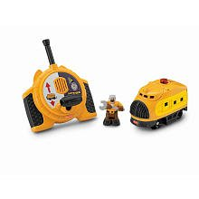 Fisher-Price GeoTrax Remote Control Set with Figure - Rock & Pete (Geotrax Figures compare prices)