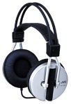 JVC HAG55 Traditional Headphones with 50mm Driver (Silver) (Discontinued by Manufacturer)
