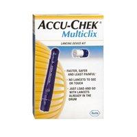 accu chek multiclix lancet device instructions