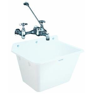 WALL MOUNT SINK (Mustee, E. L. 16K)