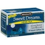 Bigelow Tea Sweet Dreams Herbal Tea -- 20 Tea Bags