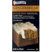 Sweet 'N Low Gingerbread Cake Mix