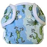 Bummis Super Snap Diaper Cover, Froggy Pond, Small (Discontinued by Manufacturer)