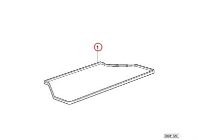 BMW Genuine Fitted Luggage Compartment Mat Fitted Luggage Compartment Mat 320i 323Ci 323i 325Ci 325i 325xi 328Ci 328i 330Ci 330i 330xi M3 спойлер bmw e90 318i 320i 325i 330i m3