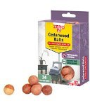 Zero In Cedarwood Clothes Moth Repeller - 24 Balls