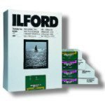 Ilford Multigrade IV Fiber Based Variable Contrast Black and White Paper 11 x 14 Inches Glossy 50 SheetsB00009XVEU : image