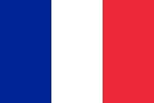 Planete Supporter Flagge Frankreich, 150x90cm