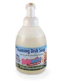 Babyganics Dish Dazzler Foaming Dish & Bottle Soap - Fragrance Free - 18.6 oz