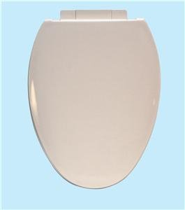 Centoco 1700SC-106-A Plastic Elongated Toilet Seat with Closed Front, Bone (Oval Slow Close Toilet Seat compare prices)