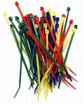 Belkin 7.5-Inch Cable Ties - Multicolored (52 Pieces)