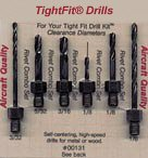 TightFit Drill Bit Set 1, Combo