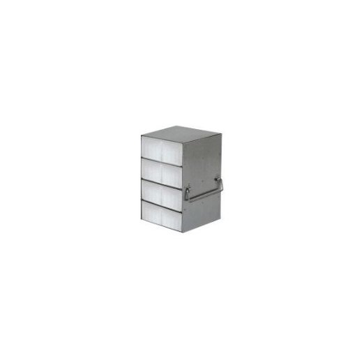 """Alkali Scientific UFM-1405 Stainless Steel Upright Freezer Rack for 50-Cell 0.5mL Microtube Storage Boxes 5-9/16"""" Length x 5-1/2 at Sears.com"""