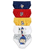 5 Pack Pure Cotton Mike the Knight Slips