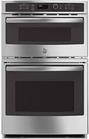 """Ge 27"""" Stainless Steel Built-In Combination Microwave Oven"""