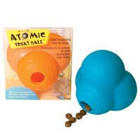 Atomic Treat Ball 3'' Dog Toy