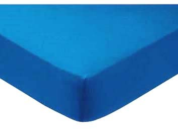Sheetworld Fitted Pack N Play (Graco Square Playard) Sheet - Turquoise Jersey Knit - Made In Usa front-3174