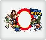 TOY Story 3 Let's Party Personalized Edible Image