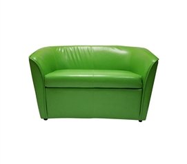 The Two-Seater Dorm Sofa - Lime