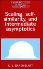 Scaling, self-similarity, and intermediate asymptotics /