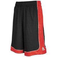 adidas Men's Alive LT 2.0 Short, Black/University Red/White, X-Large/Tall