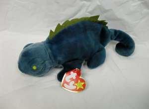 Ty Beanie Babies - Iggy the Iguana - 1