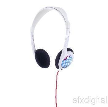 2XL Grid White Pace Car Headphones by Skullcandy