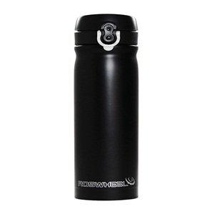 Cosmos ® Black Stainless steel insulated water bottle 350mL (keep water cool and warm)+Cosmos cable tie