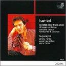 Handel flute sonatas © Amazon