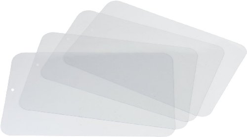 Miles Kimball Clear Plastic Placemats front-422523