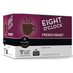 Green Mountain Coffee Roasters Gourmet Single Cup Coffee French Roast Eight O'Clock 12 K-Cups