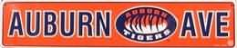 "Auburn Ave Metal Street Sign (24""x5"") at Amazon.com"