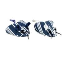 Navy Stripe Hearty Mice Cat Toy – 2 pk. (Ethical)
