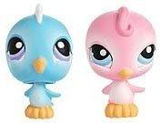 Littlest Pet Shop Pet Pairs Figures Blue Birdie & Pink Birdie by Hasbro