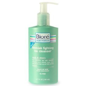 Blemish Fighting Ice Cleanser Biore 6.7 oz Cleanser For Unisex