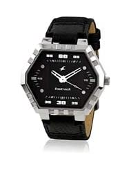Fastrack Analogue Black Dial Men Watch - (NC3067SL02)