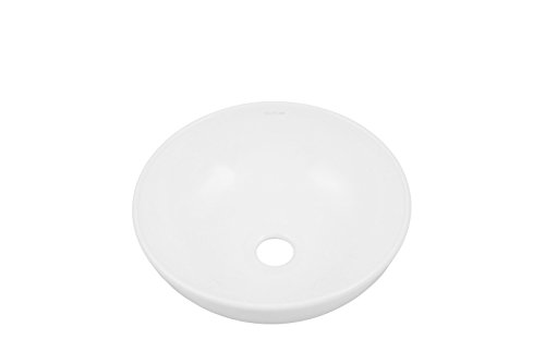 Learn More About Decolav 1494-CWH Classically Redefined Round Above-Counter Lavatory Sink, White