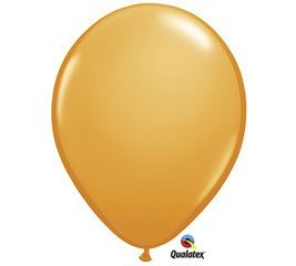 24 Inch Orange Qualatex Standard Balloons 5CT