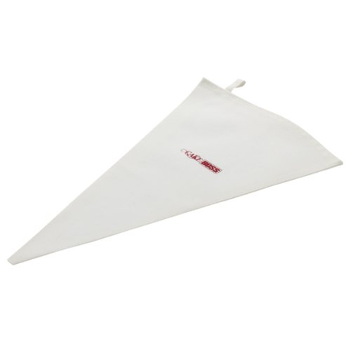 Cake Boss Decorating Tools 10-Inch Cotton Icing Bag, Medium, Cream