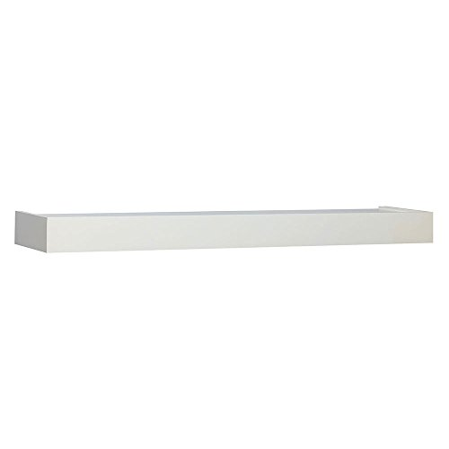 John Sterling 0140-36WT Floating Shelf, 36-Inch, White