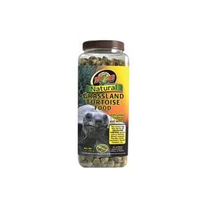 Zoo Med Natural Grassland Tortoise Food, 15 oz