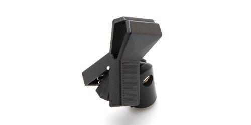 Hosa Universal Spring-Clip Mic Holder W/Brass Fitting & Insert