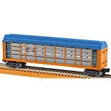 Lionel Hot Wheels, Electric O Gauge Model Train Cars, Boxcar (Color: Blue, Orange, Yellow, Silver, Tamaño: O Gauge)