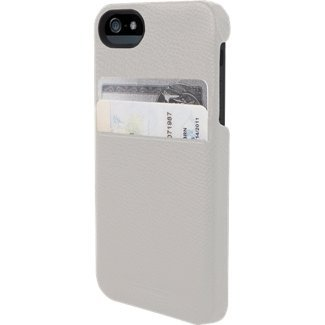 Great Price Hex Solo Wallet Case for iPhone 5 Torino White HX1307WHITE