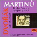 "Dvorak: Suite in A Major, ""American,"" Op. 98b / Martinu: Double Concerto"