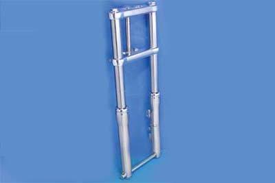V-Twin 24-1157 - 49mm Fork Slider Assembly with Chrome Sliders