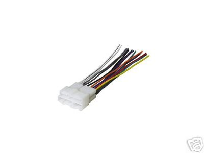 stereo wire harness chevy s10 98 99 00 01 02 car radio wiring installation parts 8 29