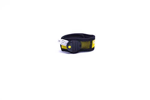 My Buddy Tag with Velcro Wristband, Yellow - 1