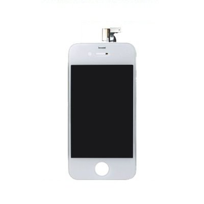 White Touchscreen Digitizer And Lcd Assembly For Apple Iphone 4 Verizon Model