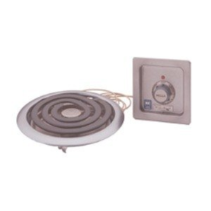 """Wells H-336 Drop-In 10"""" Countertop Electric Hot Plate - 2000W"""