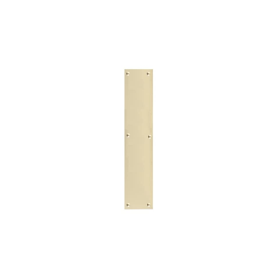 Brass Accents A07 P6320 Antique Brass Push Plate Push Plate 3 x 12